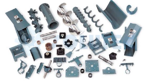 Componentes transportadores Helicoidais